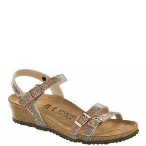 New Women's Size 37 Papillio Lana Wedge Sandals